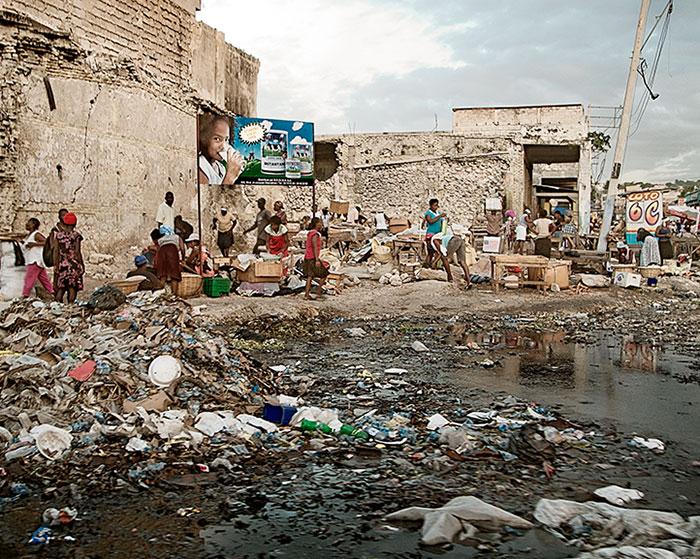 Die Lage in Haiti